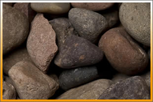 Arizona River Rock Sold at Vista Landscape Center