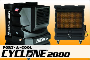 Port-A-Cool Cyclone 2000 Sold at Vista Landscape Center