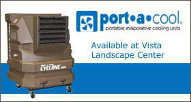 Port-A-Cool Coolers Available at Vista Landscape Center