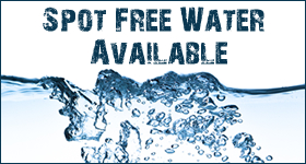 Spot Free Water Available at Vista Landscape Center